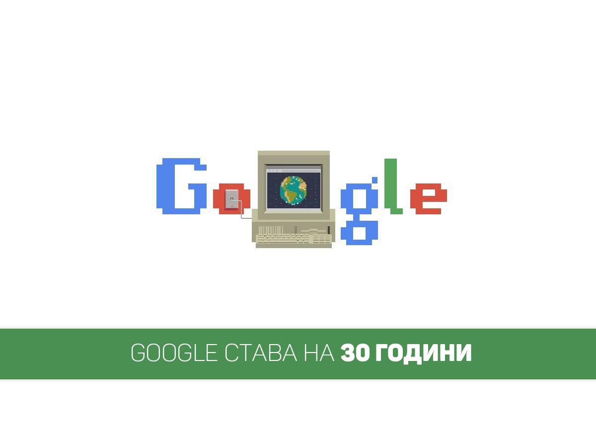 рожден ден на гугъл